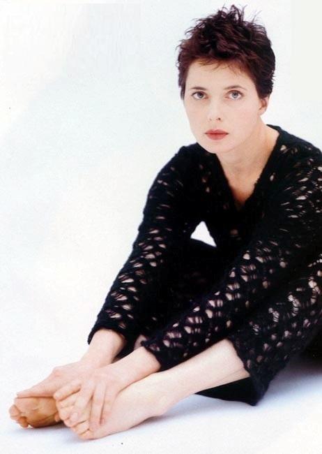 Isabella Rossellini Feet