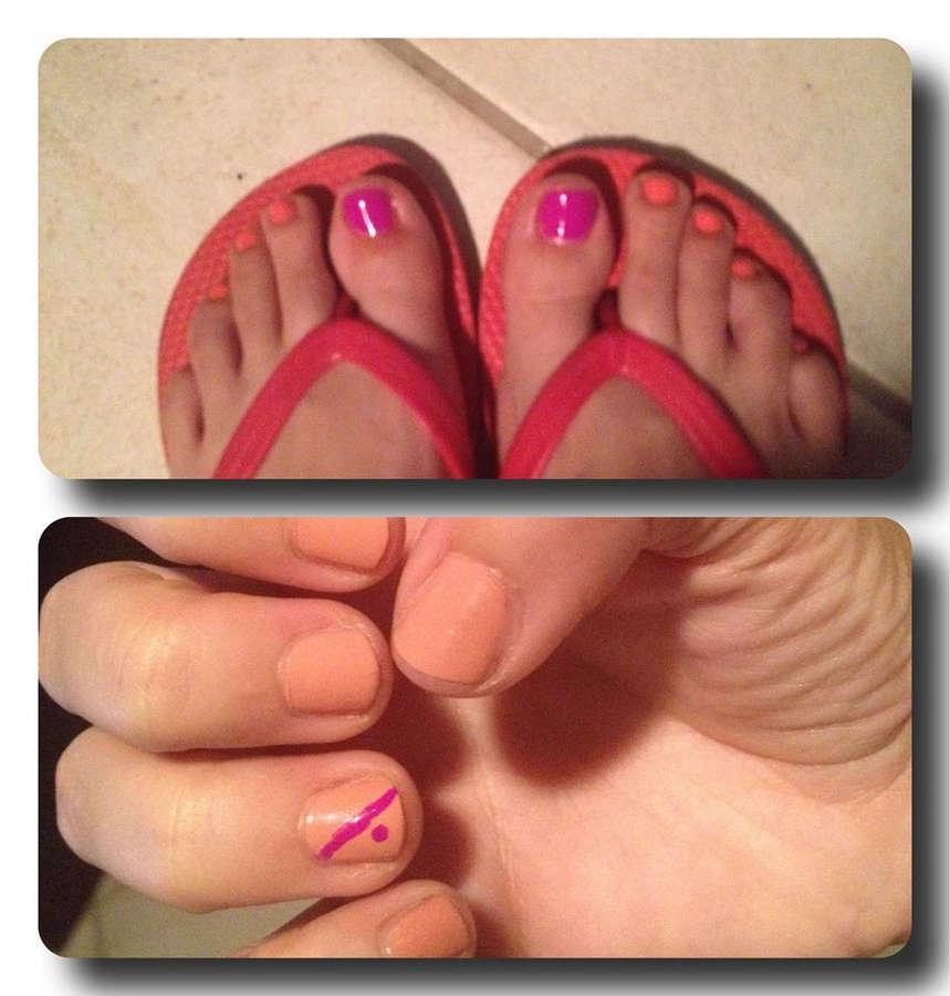 Alyssa Gadson Feet