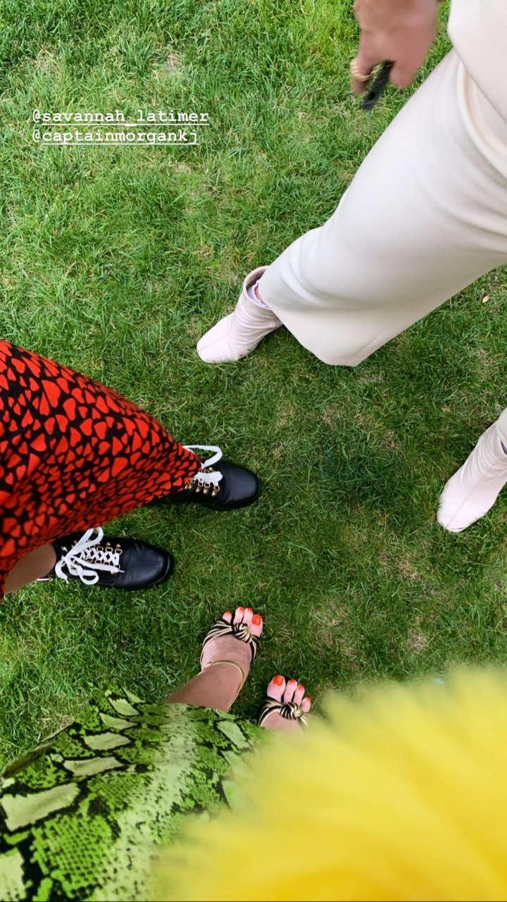 Rydel Lynch Feet