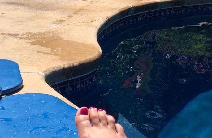 Stacey Stauffer Feet