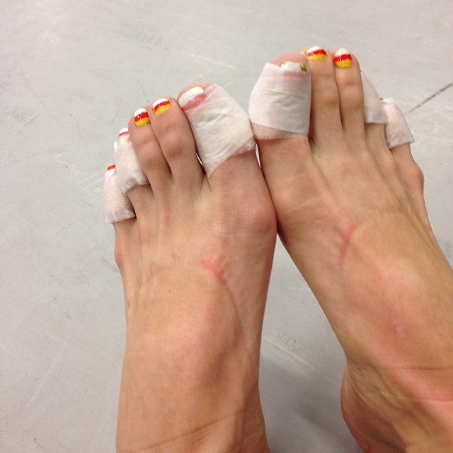 Allison DeBona Feet