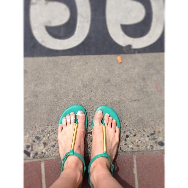 Allison DeBona Feet