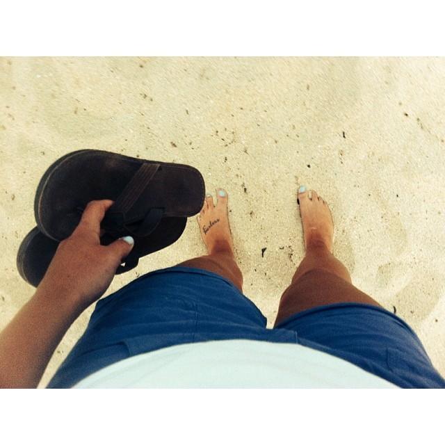 Kaela Grant Feet