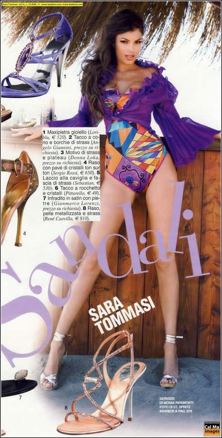 Sara Tommasi Feet