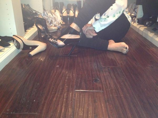 Adrienne Maloof Feet