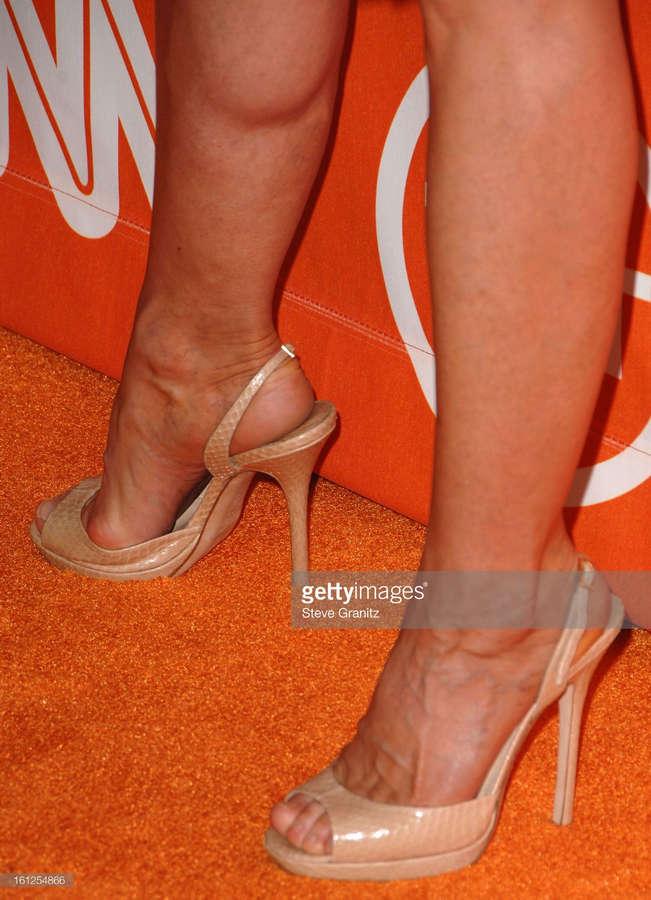 Holly Hunter Feet