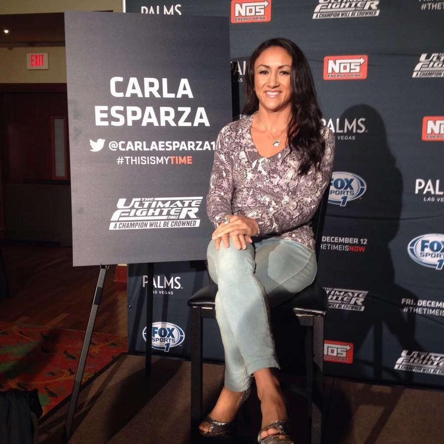 Carla Esparza Feet