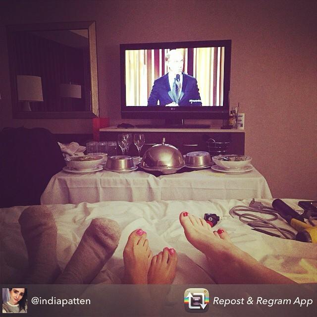 Adrienne McQueen Feet