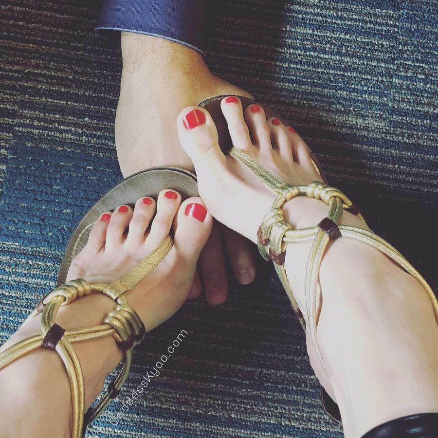 Goddess Kyaa Feet