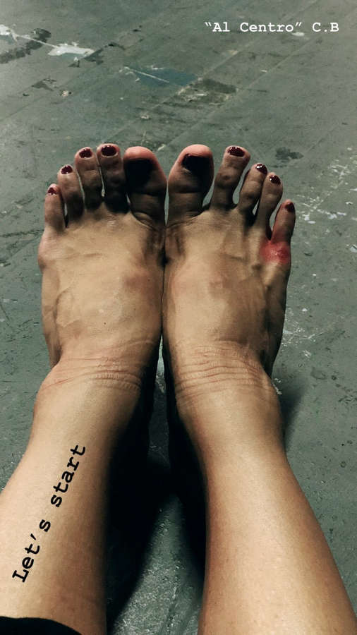 Virginia Tomarchio Feet