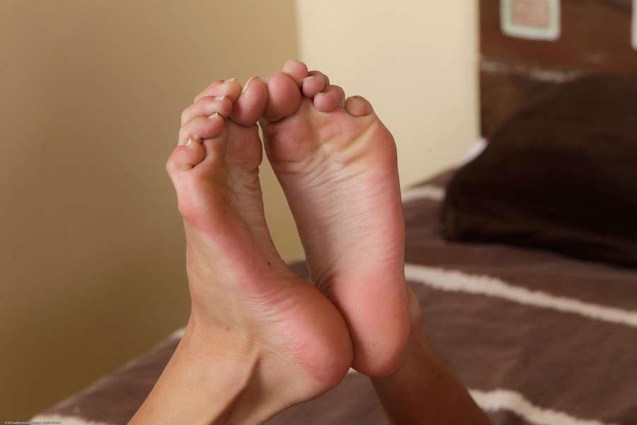 Janice Griffith Feet
