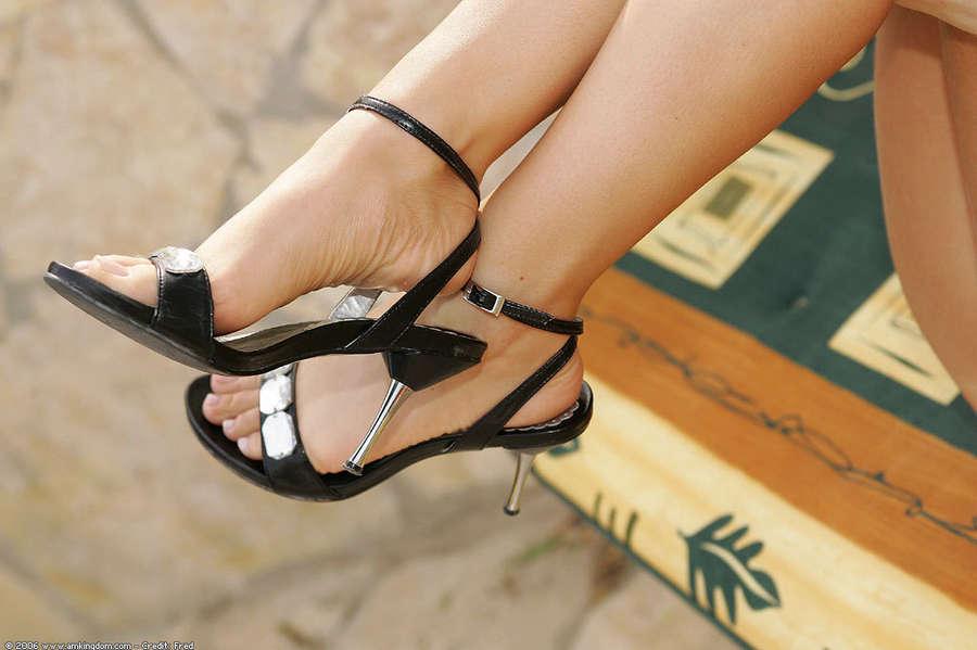 Lora Croft Feet