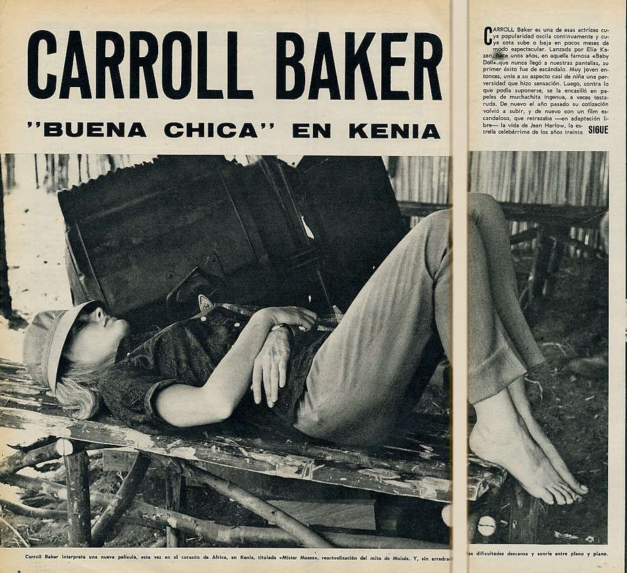 Carroll Baker Feet