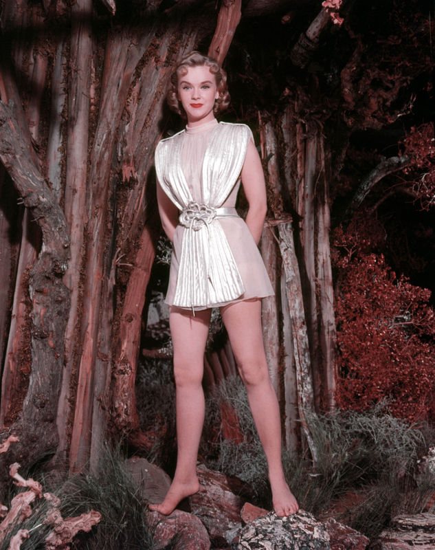 Anne Francis Feet