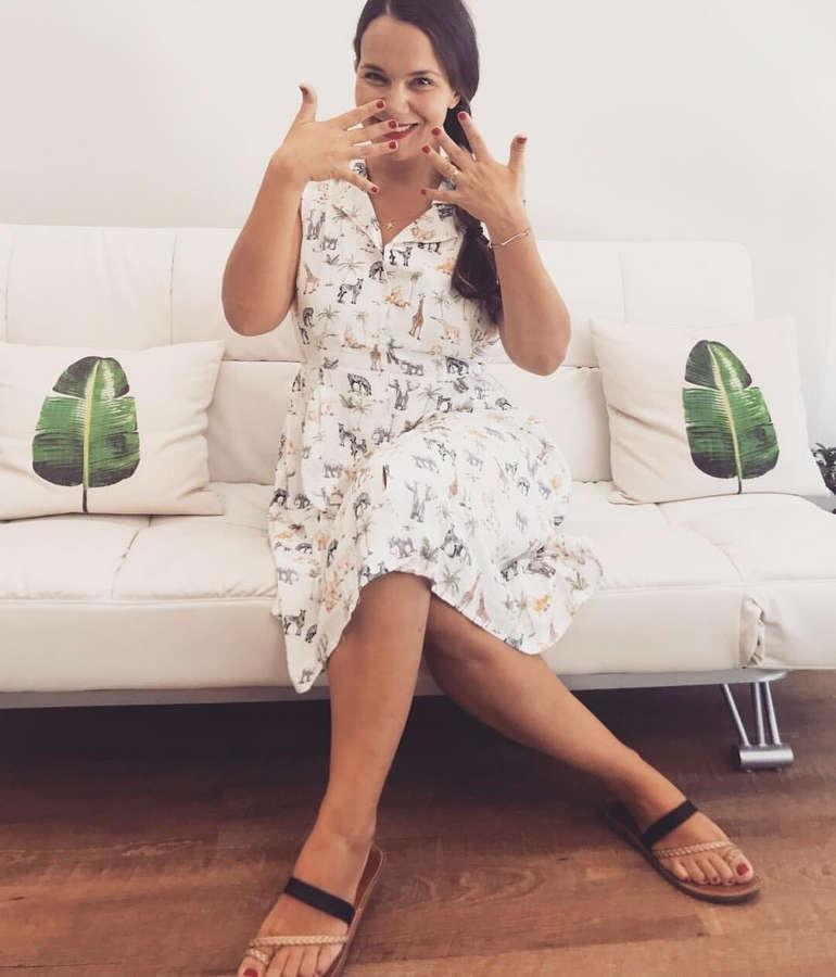 Eliana Chrysikopoulou Feet