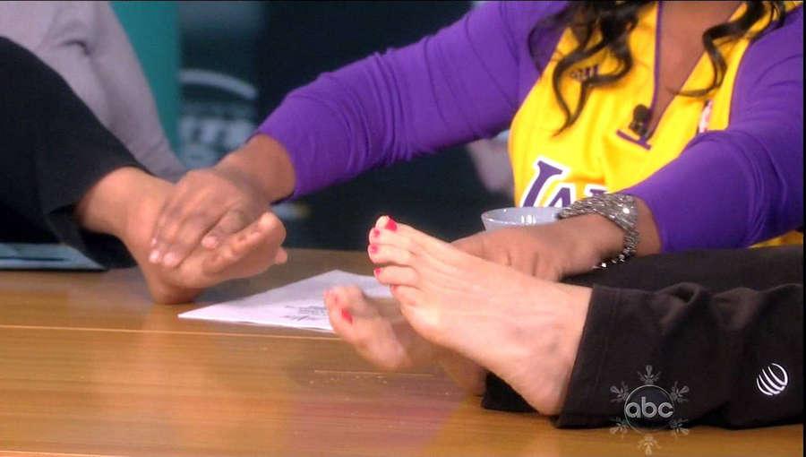 Joy Behar Feet