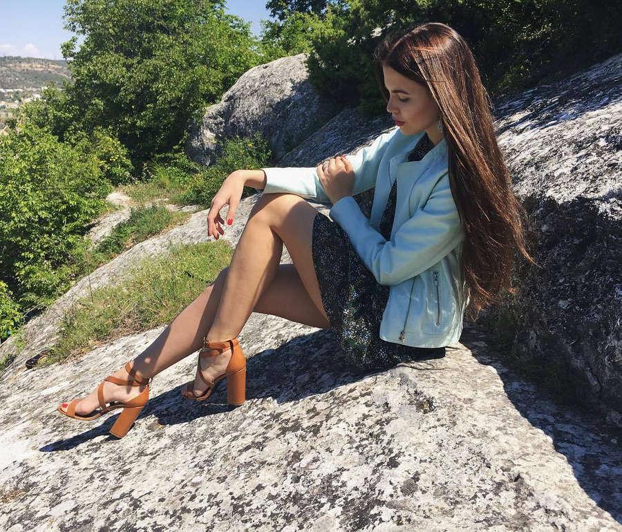 Alena Spodynyuk Feet