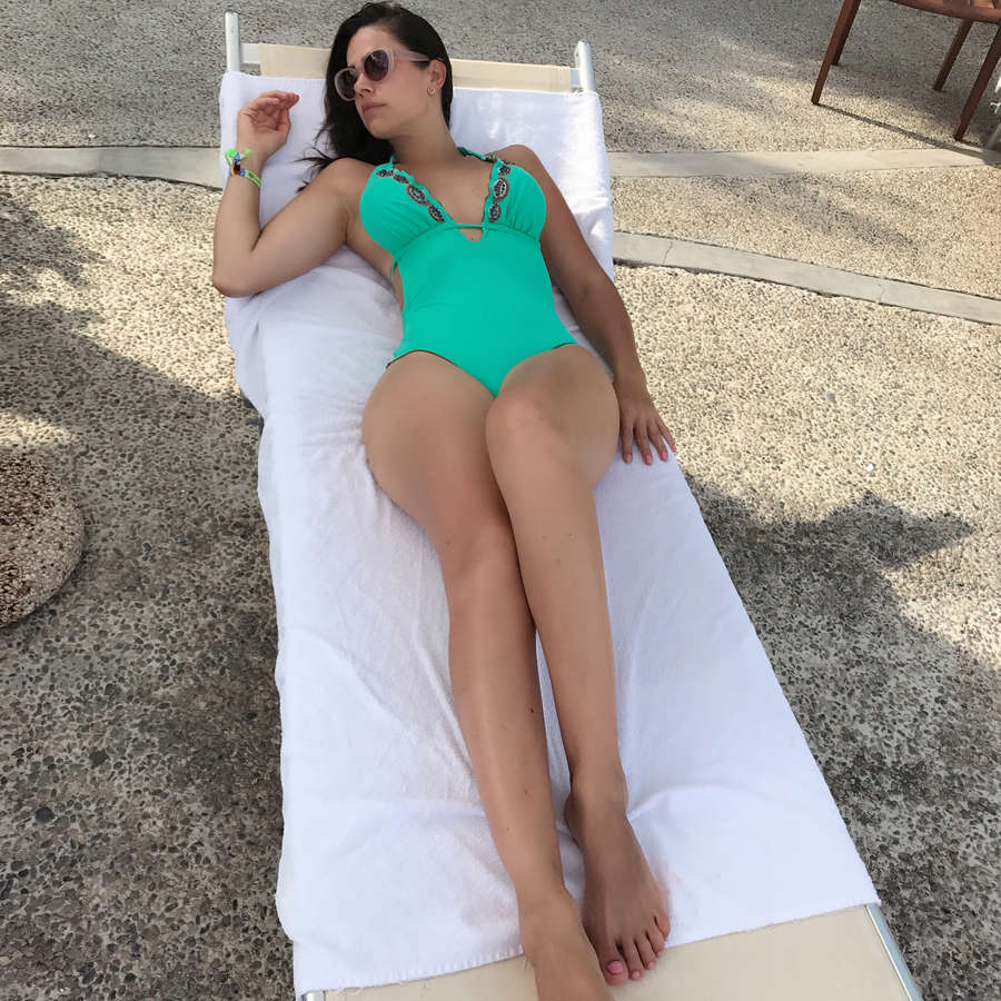 Luz Elena Gonzalez Feet