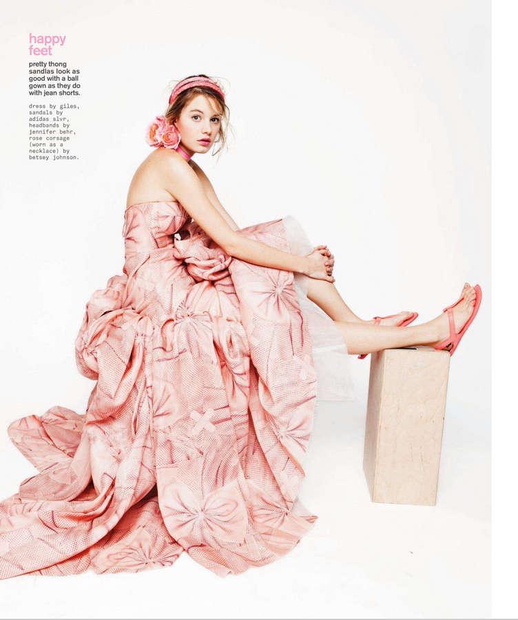 Camille Rowe Feet