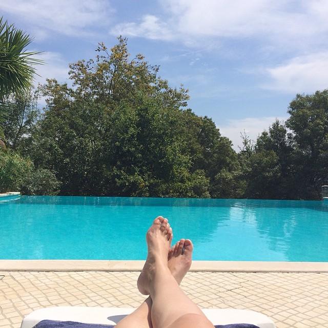 Tina Maerevoet Feet