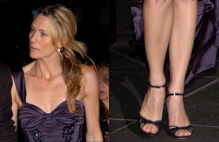 Robin Wright Feet