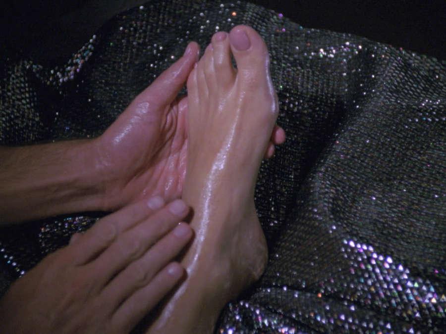 Marina Sirtis Feet