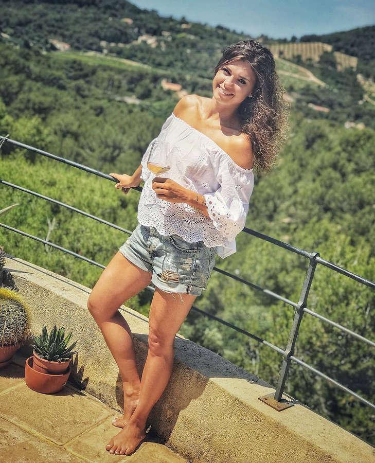 Denisa Pfauserova Feet