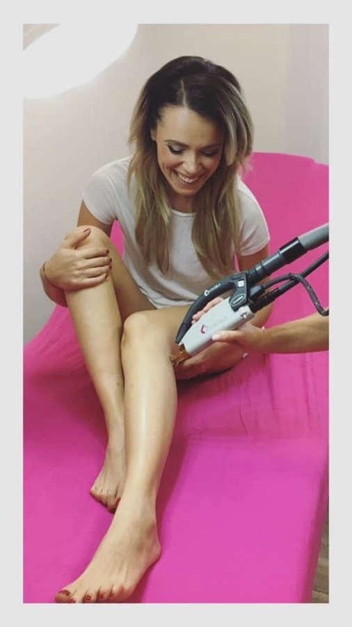 Mirka Partlova Feet
