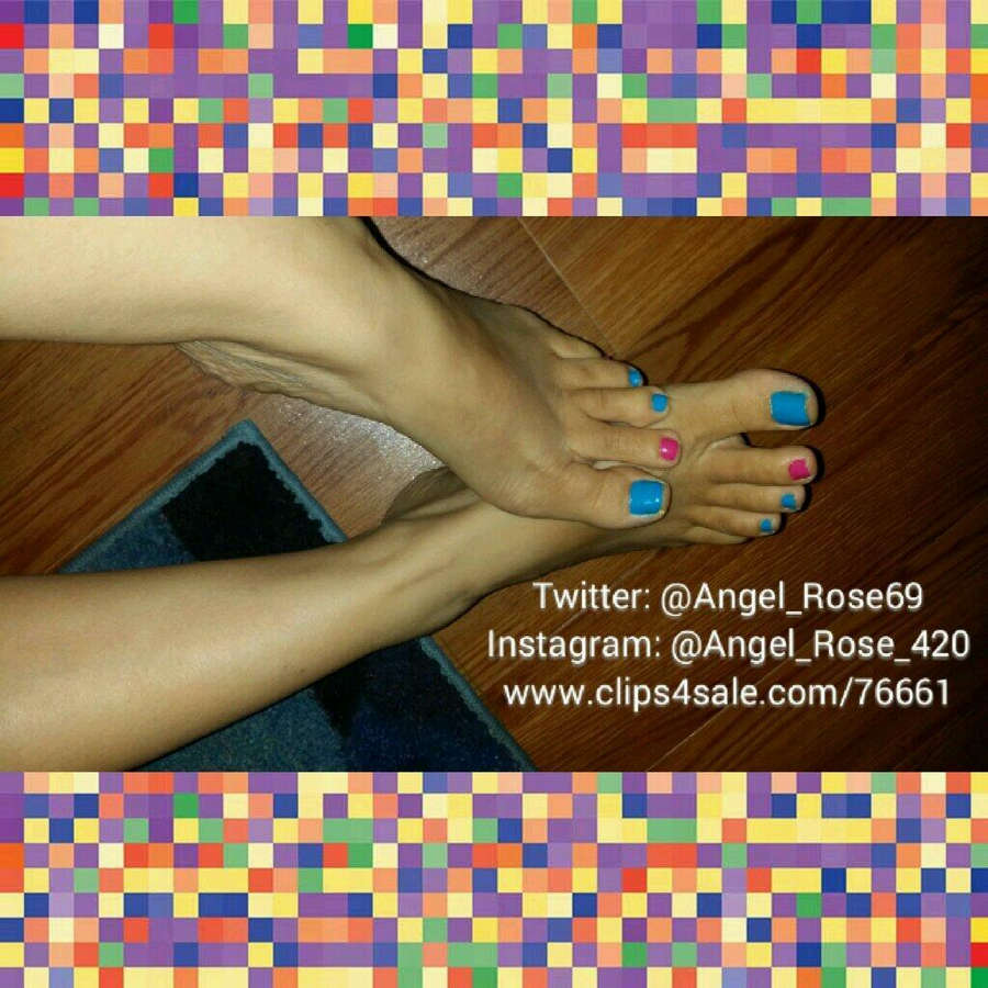Angel Rose Feet