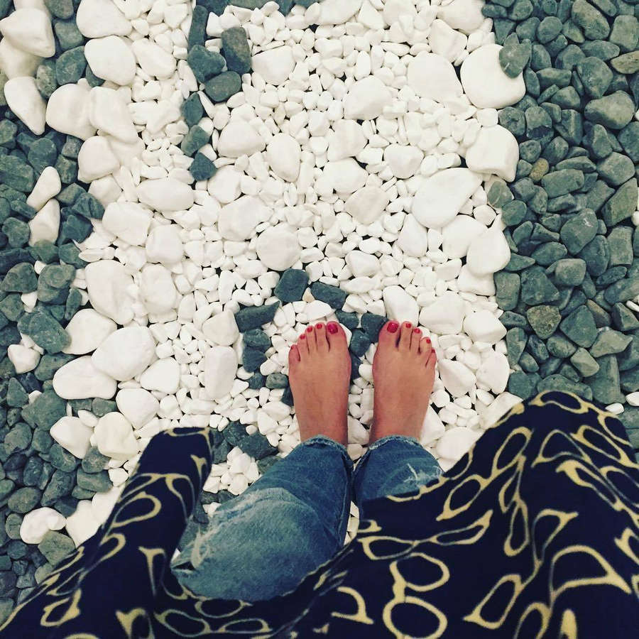 Hristina Kanataki Feet