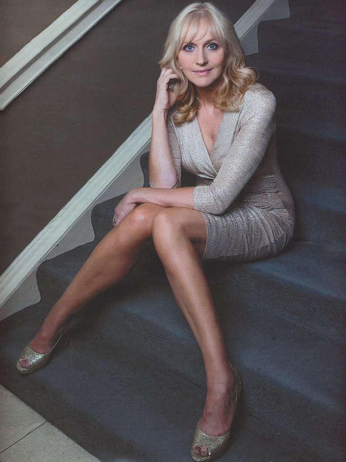 Miriam OCallaghan Feet