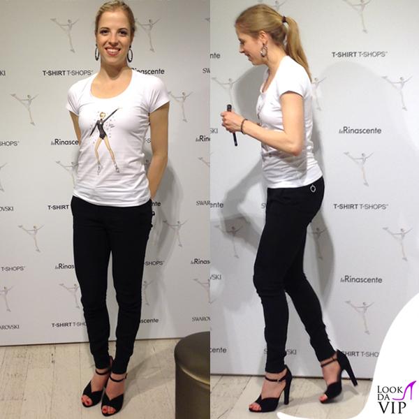 Carolina Kostner Feet
