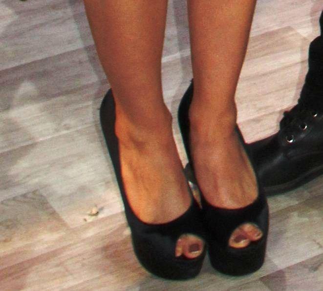 Flor Martino Bibolini Feet