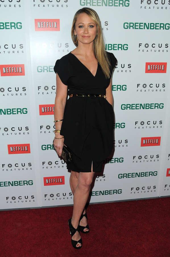 Christine Taylor Feet