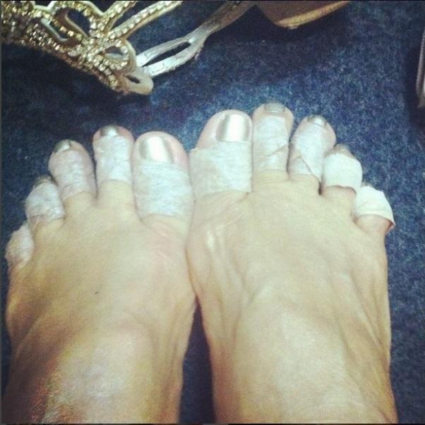 Elba Ramalho Feet