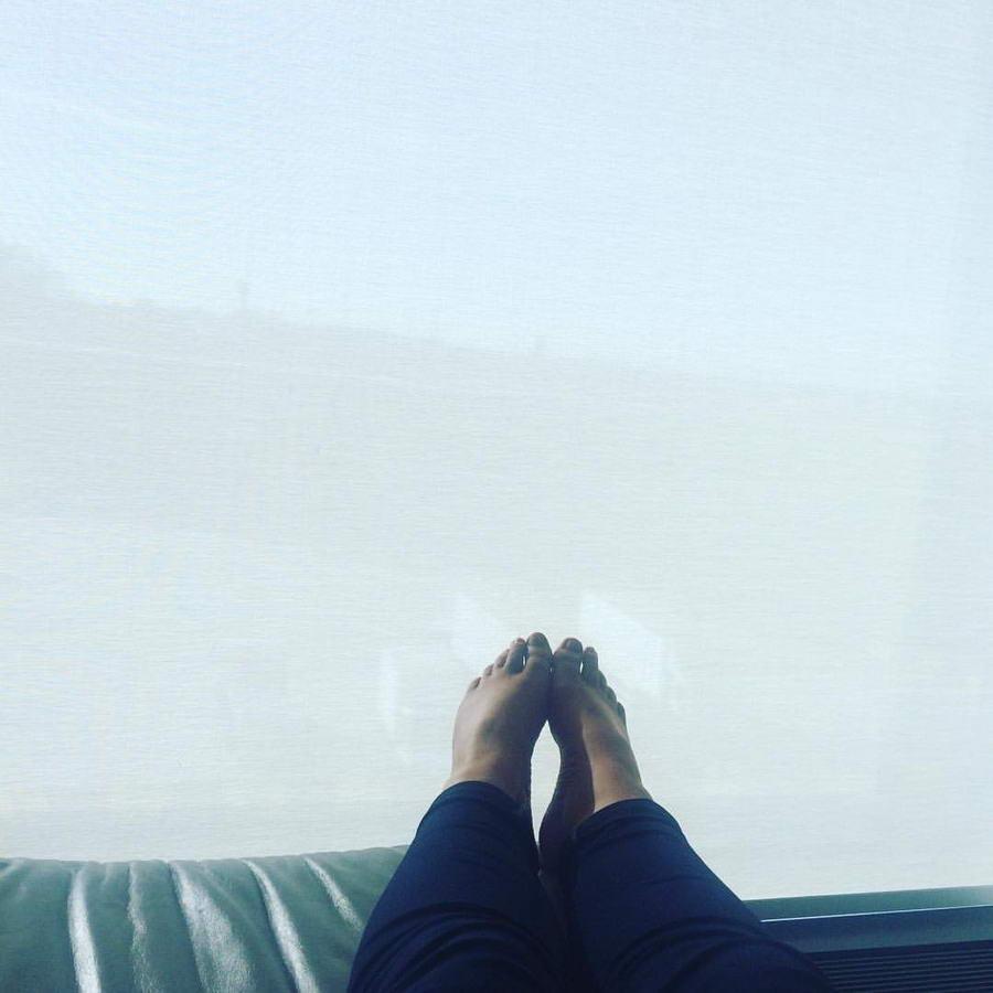 Grace Dent Feet