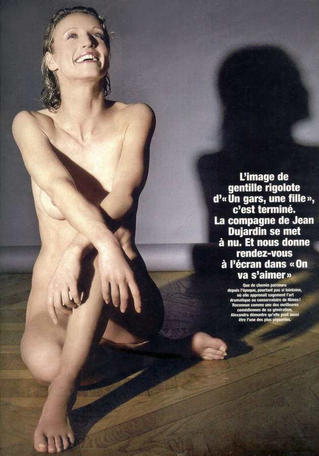 Alexandra Lamy Feet