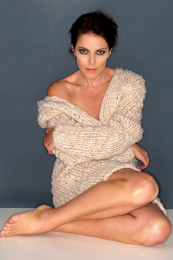 Claudia Gerini Feet