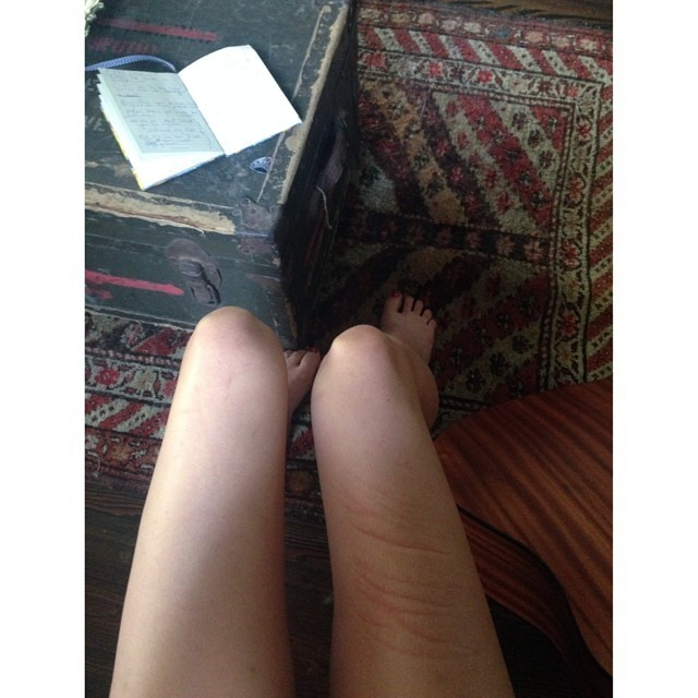Rainey Qualley Feet