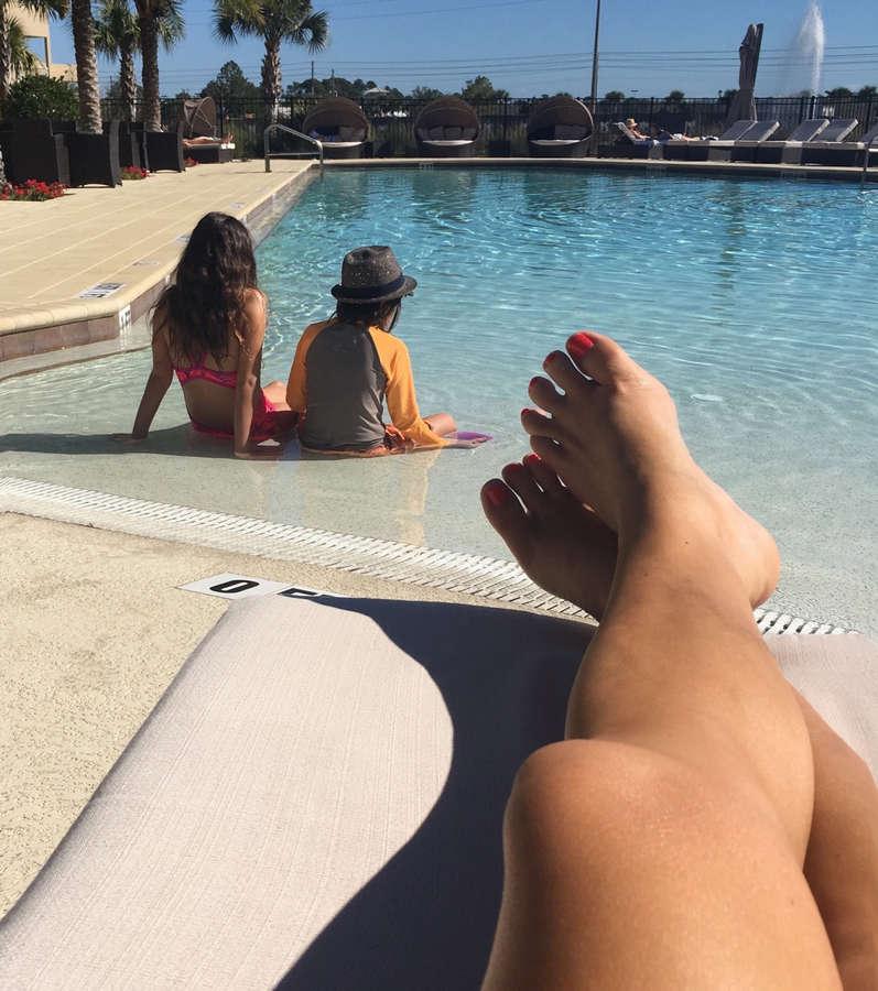 Katy Hill Feet