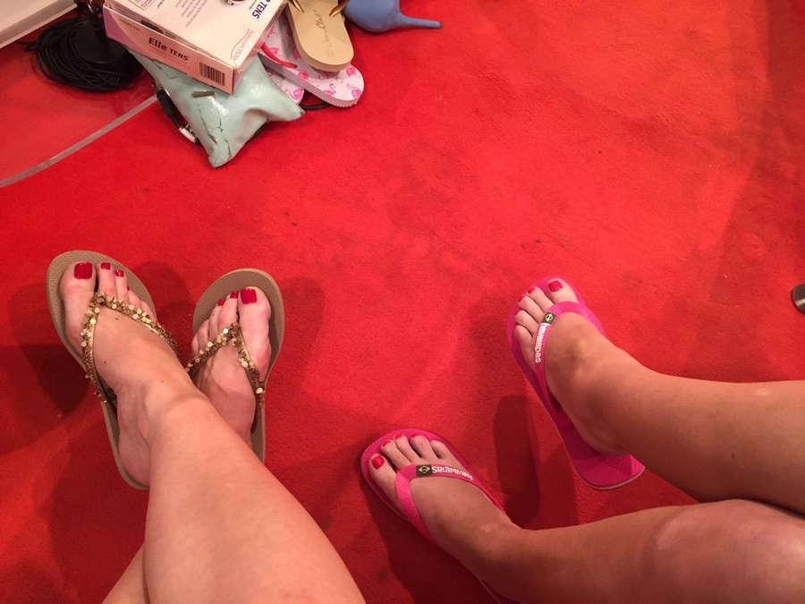 Charlotte Hawkins Feet