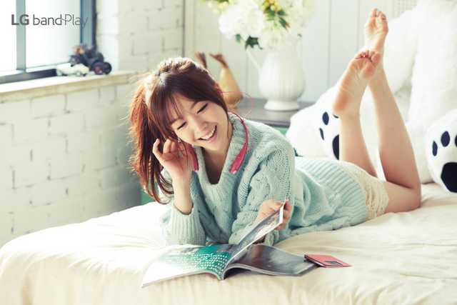 Bang Min Ah Feet
