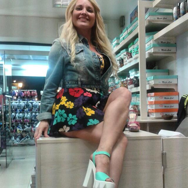 Maja Nikolic Feet
