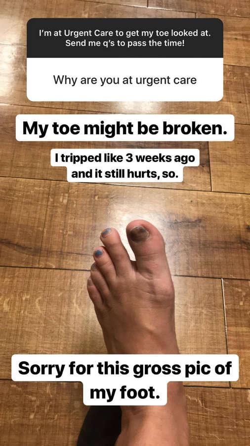 Sarah Sterling Feet
