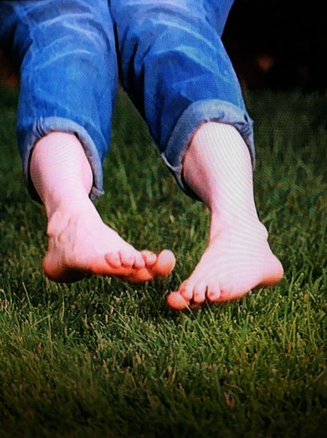 Lennon Parham Feet
