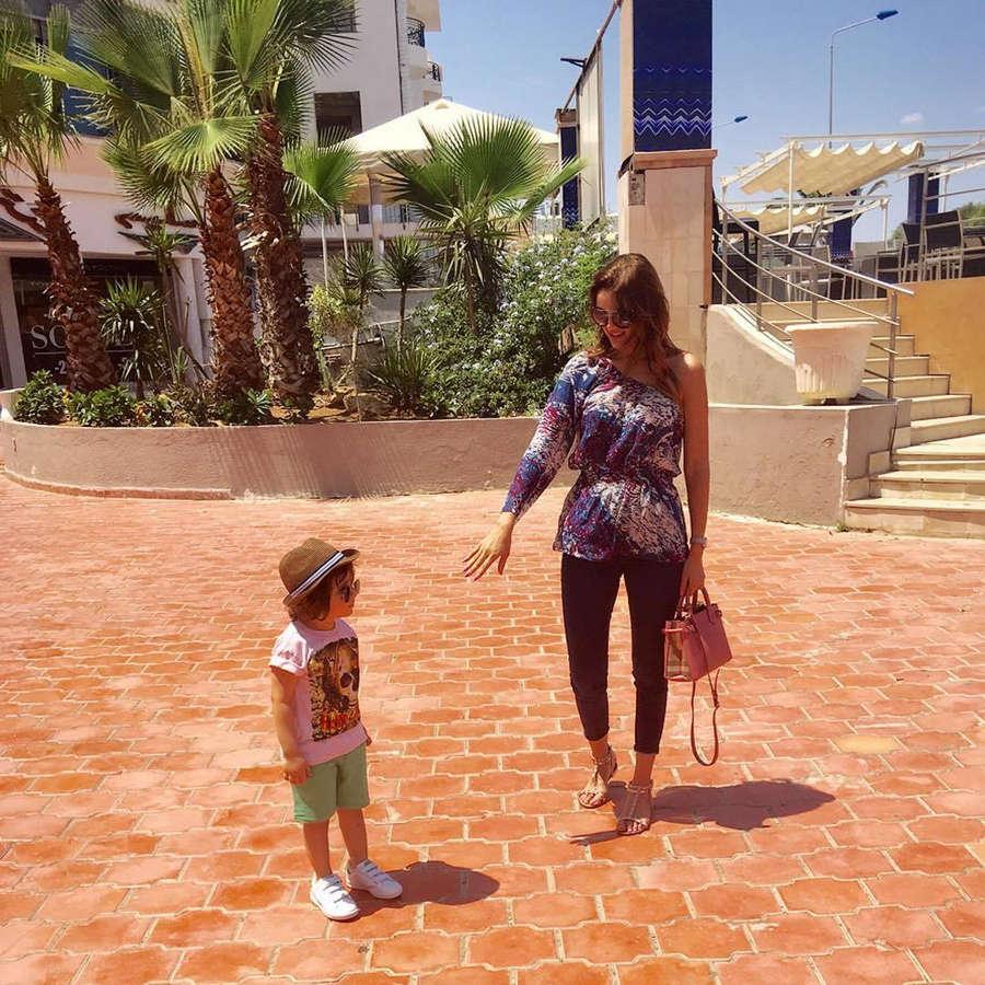 Samira Maqroun Feet