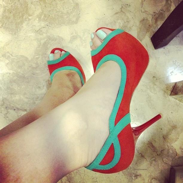 Heart Evangelista Feet