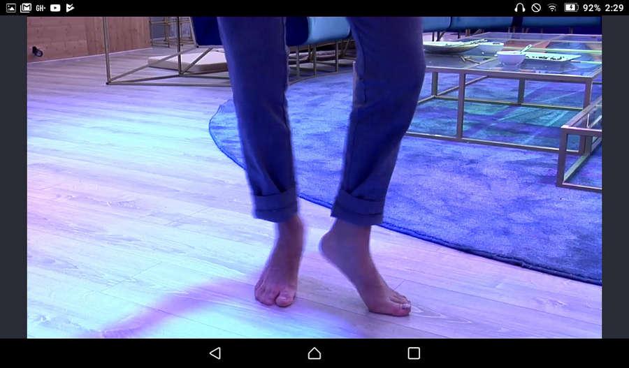 Miriam Saavedra Feet