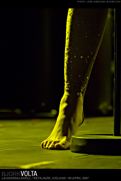 Bjork Feet