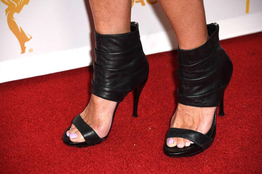 Eileen Davidson Feet